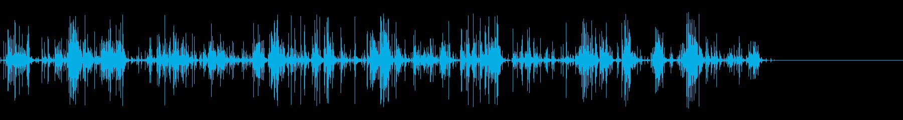 [生音]ビー玉をカチャカチャする02の再生済みの波形
