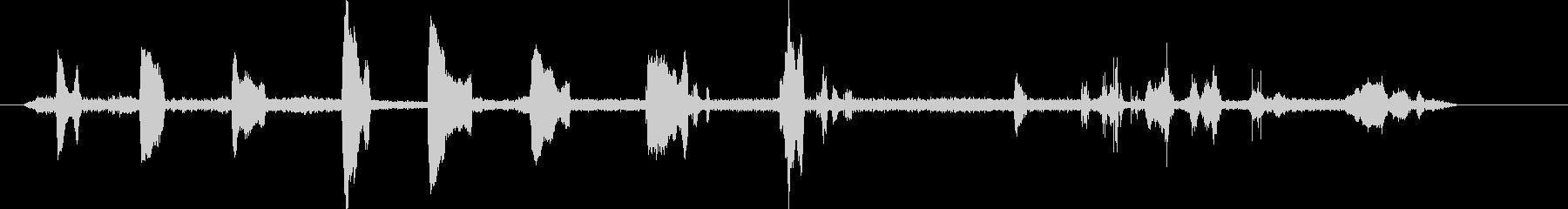 シール、エレファントコール、クライ...の未再生の波形