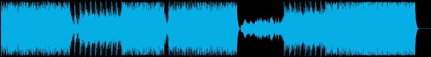 映画、ゲームのBGMの再生済みの波形