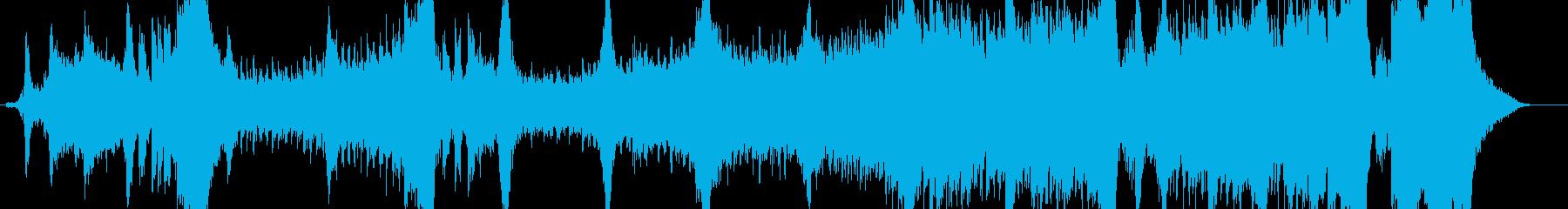 ライブオーケストラ、ソロソプラノ、...の再生済みの波形