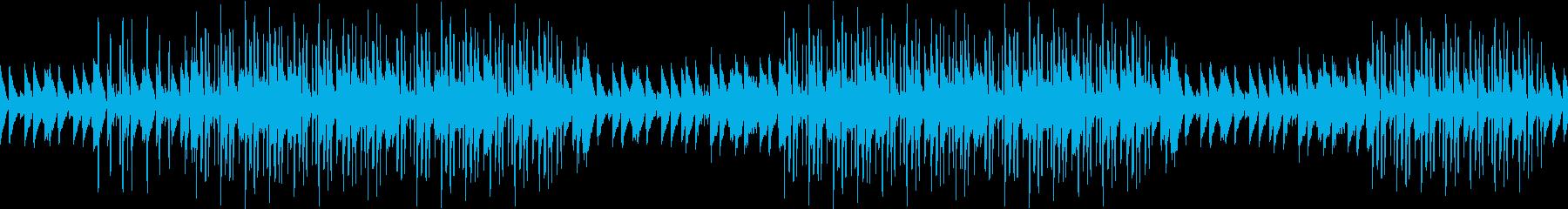 ピアノ・エンディング・切ない・ループの再生済みの波形