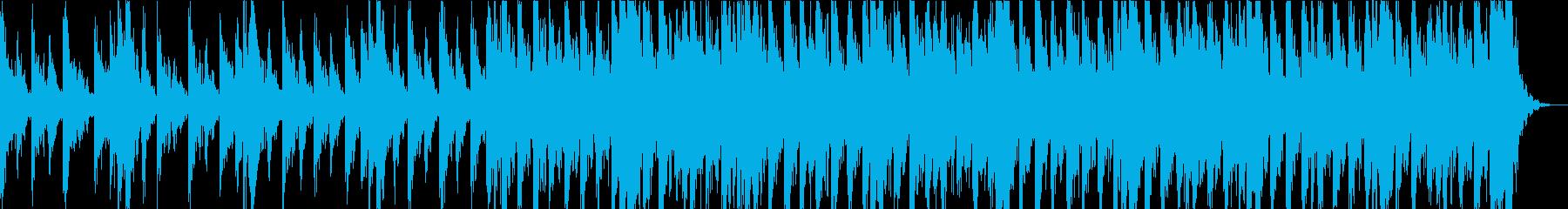 幻想的で緊張感のあるエピックオーケストラの再生済みの波形
