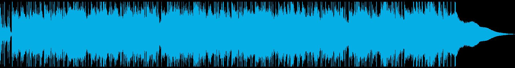 さわやかで少し切ないアコーステックな曲の再生済みの波形