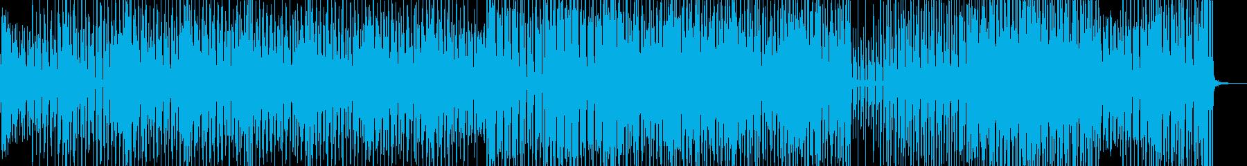 野蛮なリズムとメロディ・クラブテクノ Aの再生済みの波形