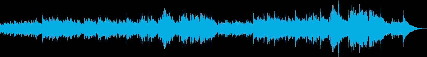 映画のようなロマンチックな音楽の再生済みの波形