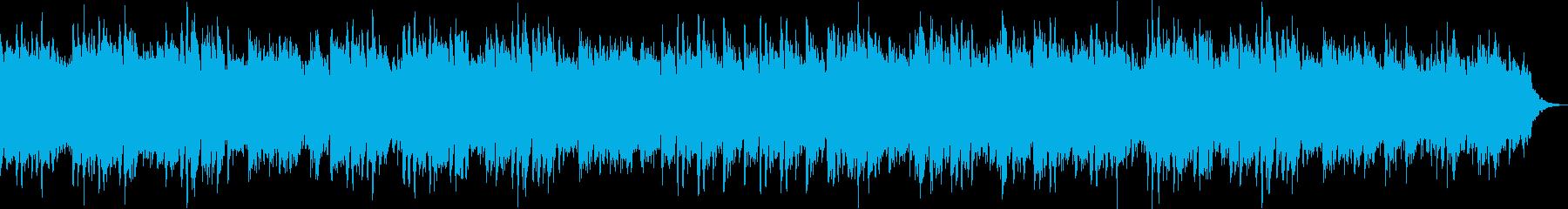 前向きになるオルゴールの再生済みの波形