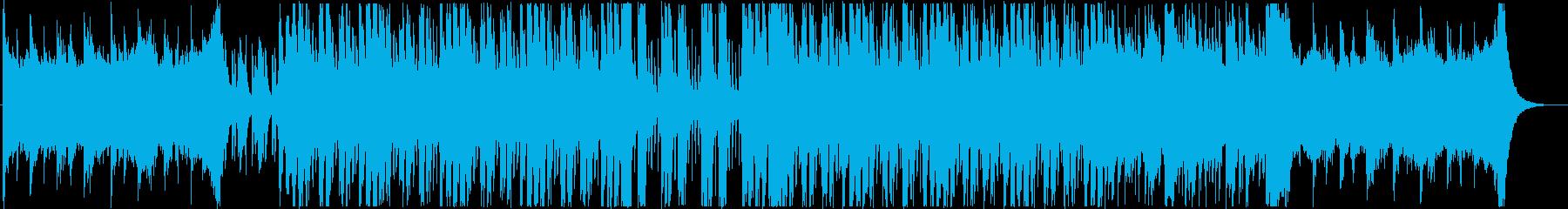 不気味で怪しい3拍子ホラーハロウィン曲の再生済みの波形