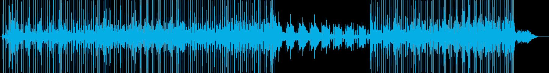 浮遊感90'sドラムンベース 夜の街の再生済みの波形