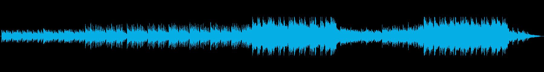 エモーショナルで洗練されたピアノトラックの再生済みの波形