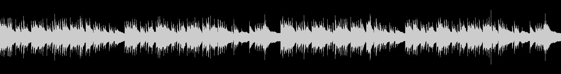 アコギ ノスタルジックなループBGMの未再生の波形