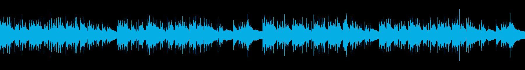 アコギ ノスタルジックなループBGMの再生済みの波形