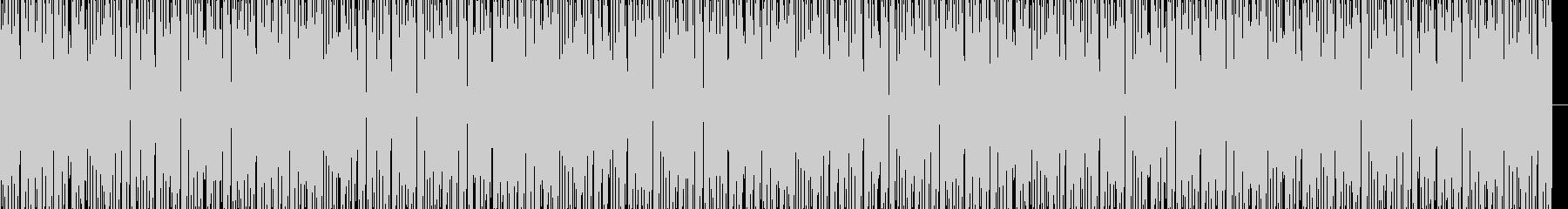 メロウヒップホップビートの未再生の波形