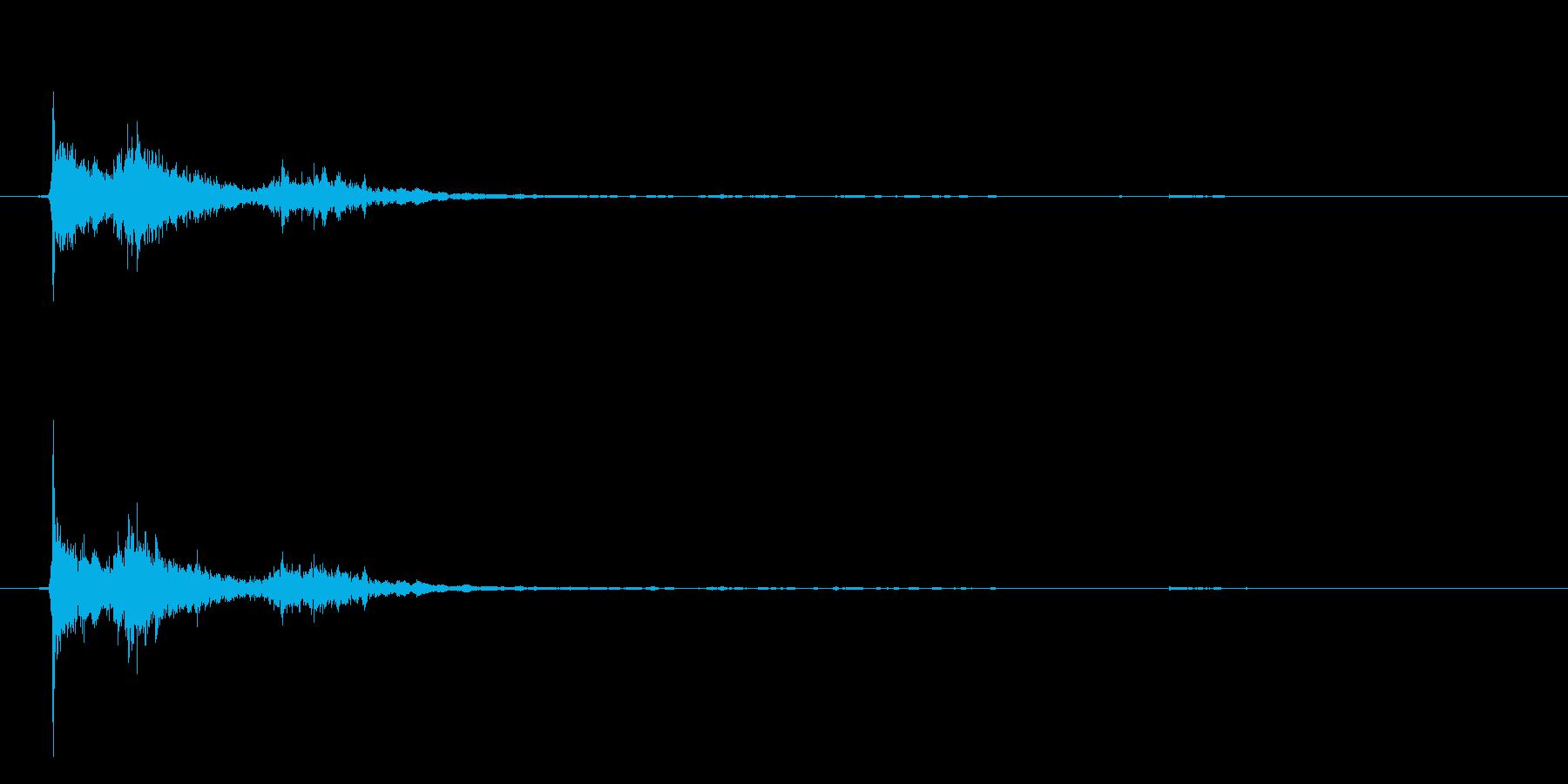 パシャンポンB(湯船に手を潜らせる)の再生済みの波形