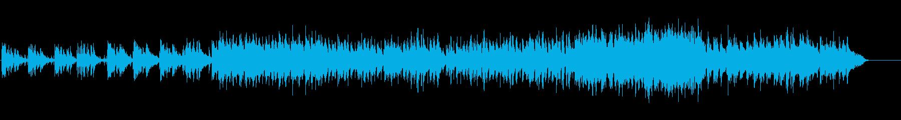 素朴でほのぼのとしたポップ・ミュージックの再生済みの波形