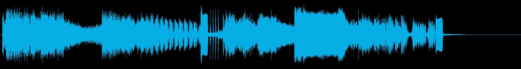 最大出力の再生済みの波形