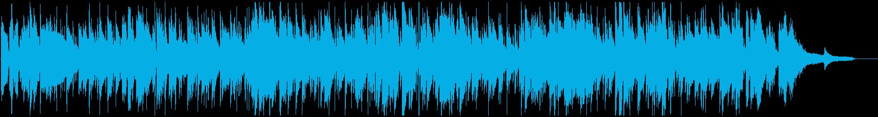 ゆったりボサノバ、素敵な生演奏サックスの再生済みの波形