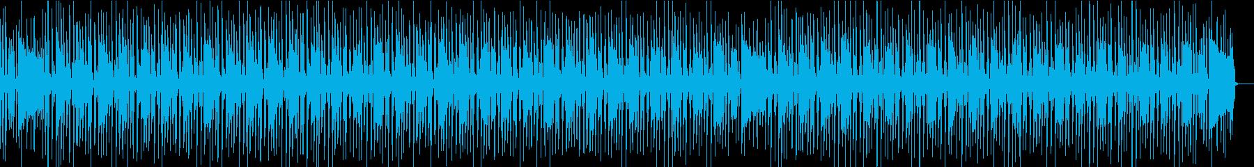 ウキウキ軽快な生演奏ファンク/製品紹介の再生済みの波形