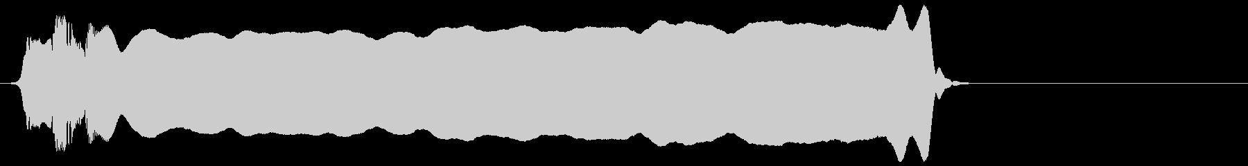 ちひー(ピーッ)の未再生の波形