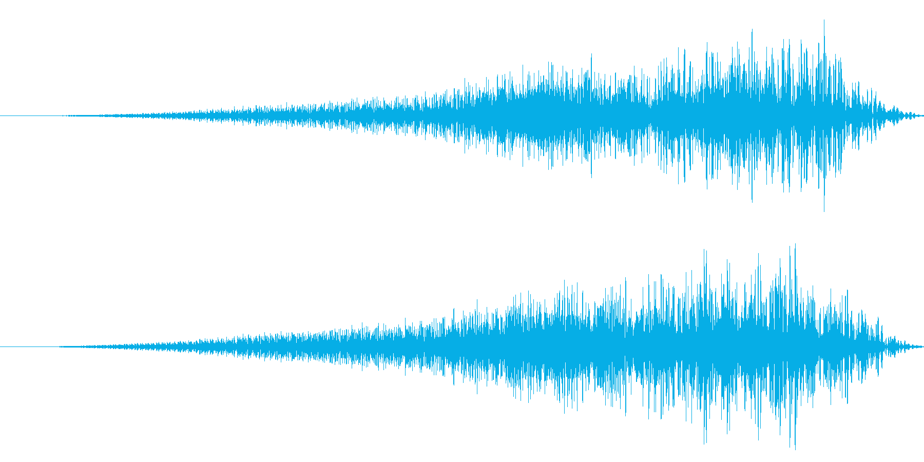 ホラー系/リバース音/場面転換の再生済みの波形