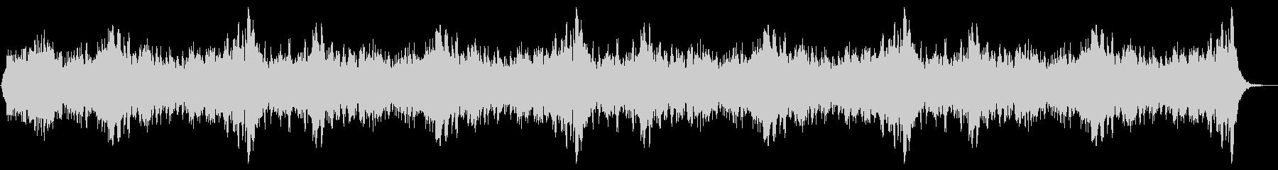 ホラー09の未再生の波形