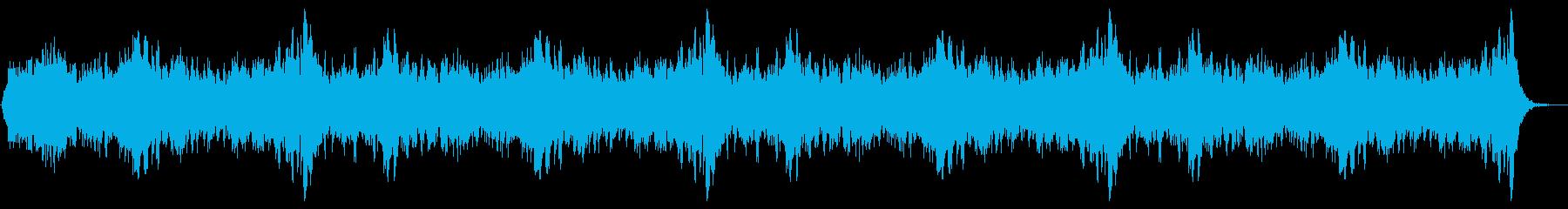 ホラー09の再生済みの波形