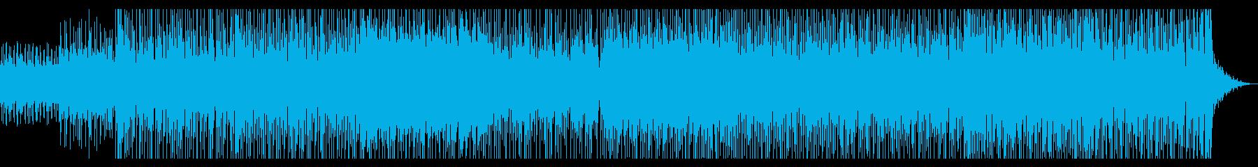 オリエンタルな響きと疾走感のあるリズムの再生済みの波形