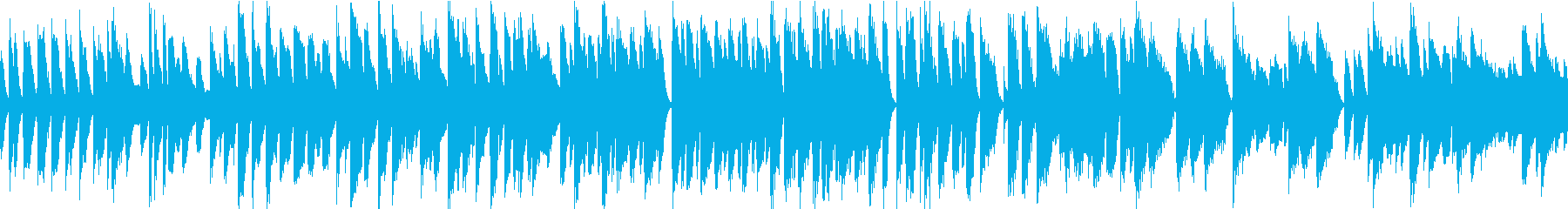 優しいピアノソロ/商品紹介等に/ループ用の再生済みの波形
