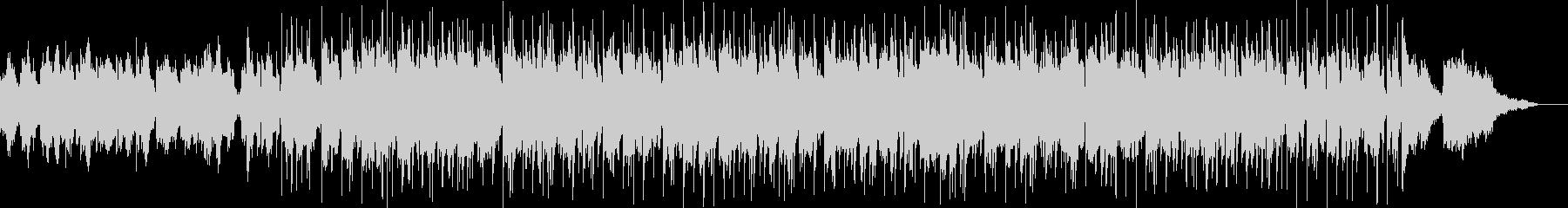ジャズ風 MIX、アレンジ パターン2の未再生の波形