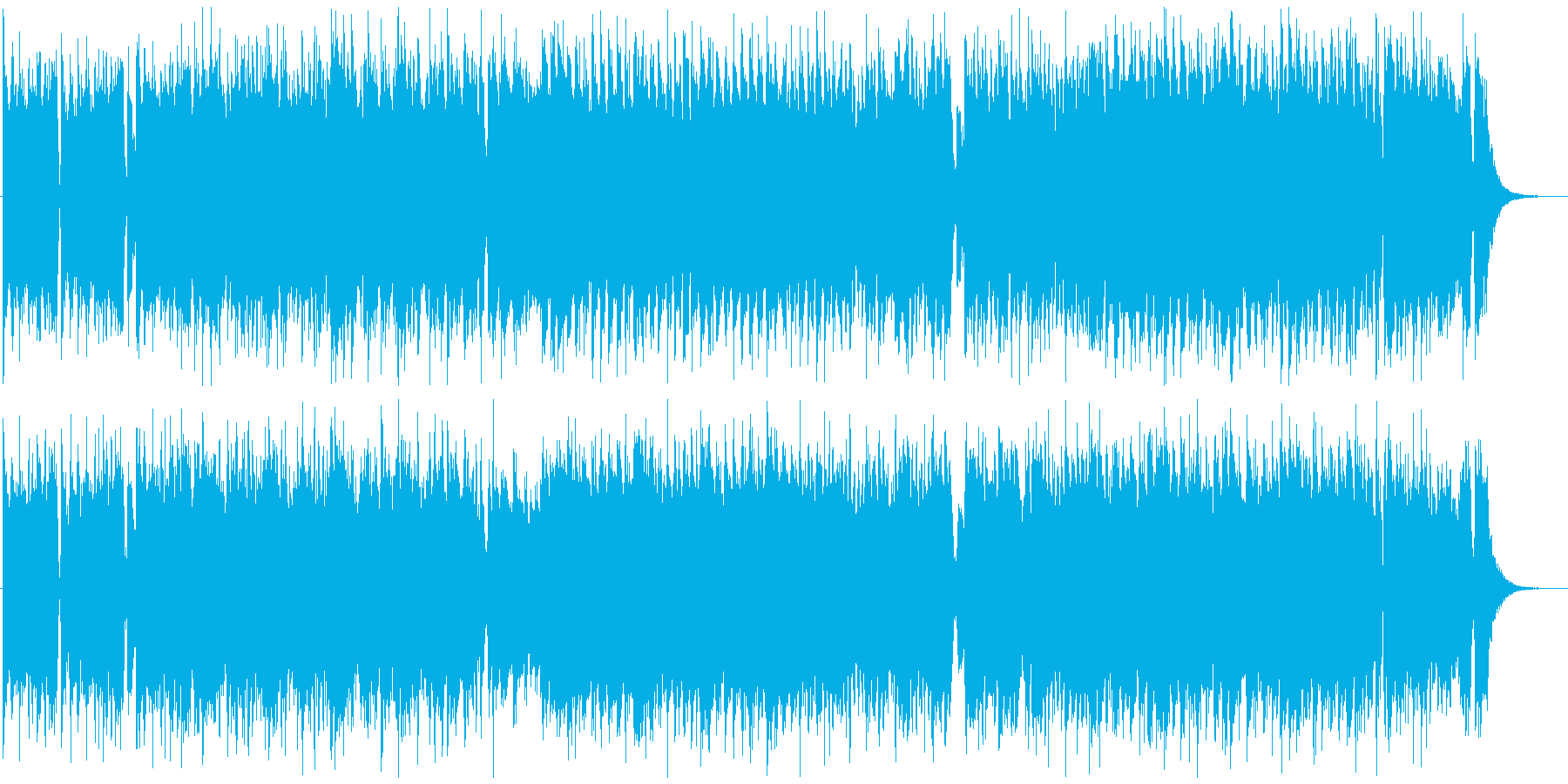 HEY! HEY!ROCK  盛上げ系の再生済みの波形
