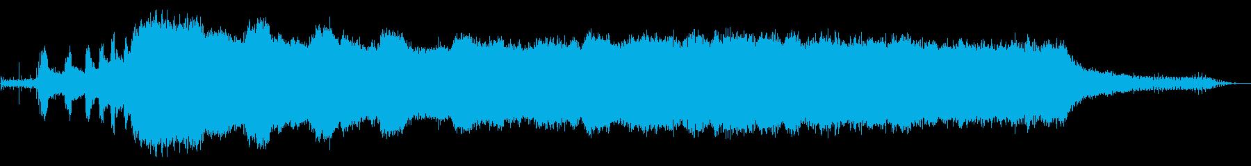 ガスチェーンソー:木を切るの再生済みの波形