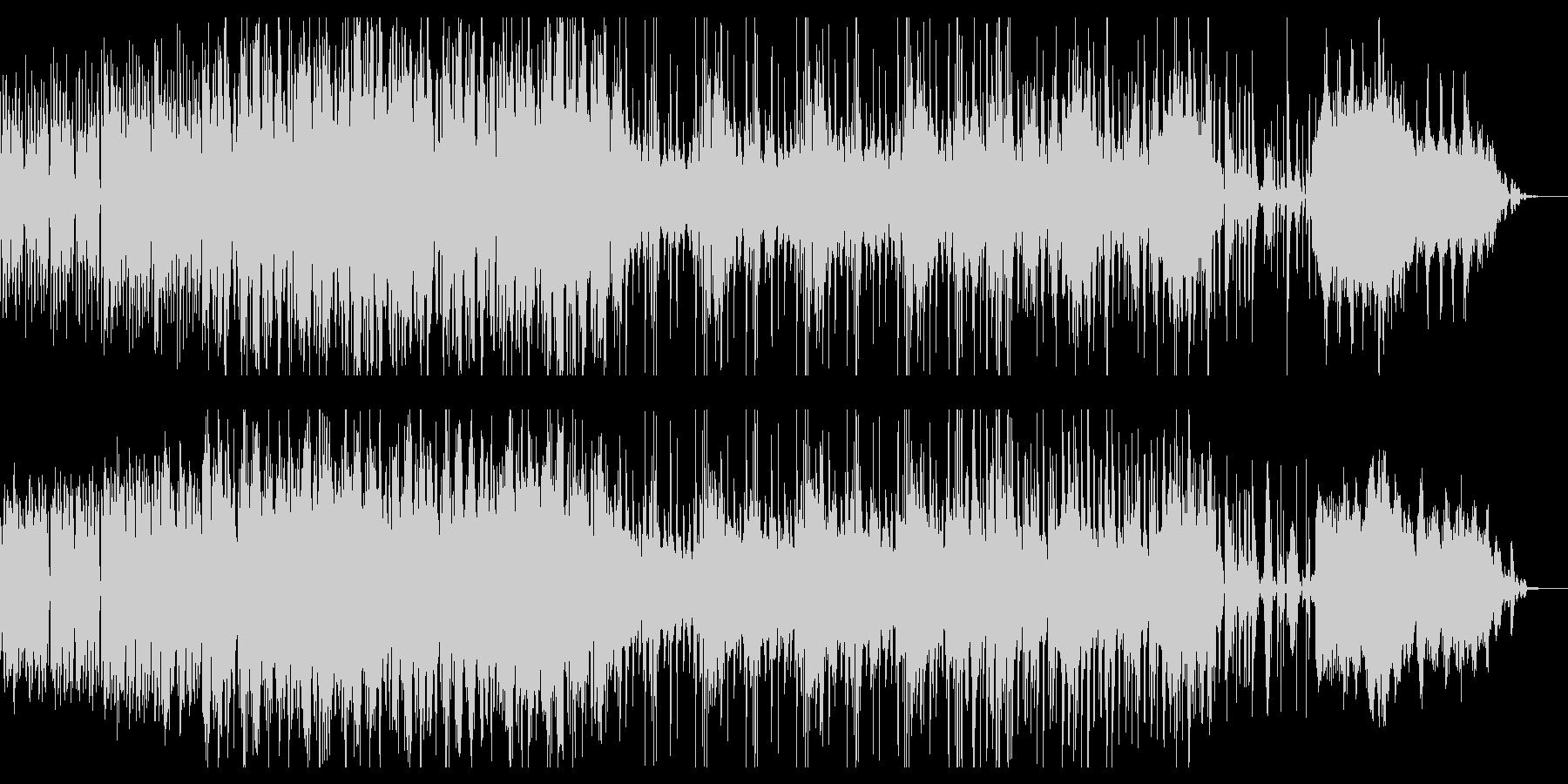 プログレッシブなアートロックサウンド。の未再生の波形