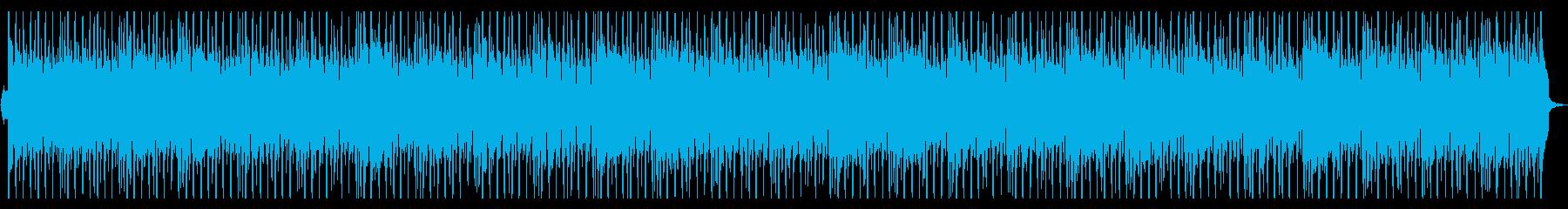 やさしいフルートの切ないポップスビート2の再生済みの波形