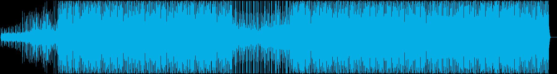 クールな女性声ループもののEDMの再生済みの波形
