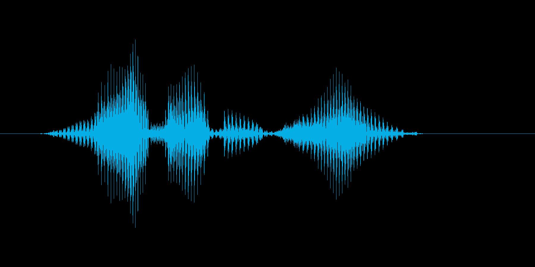 レベル10(じゅう)の再生済みの波形
