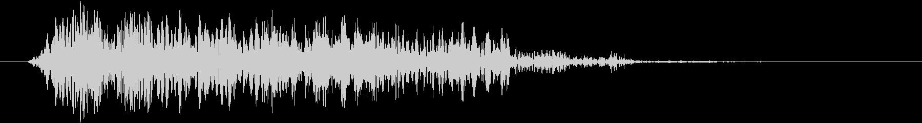 スクラッチカットの移行7の未再生の波形