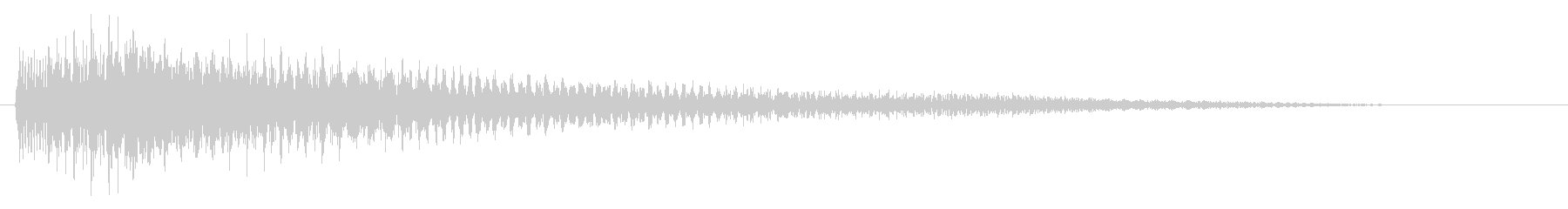 【生演奏】安らぐピアノジングルの未再生の波形
