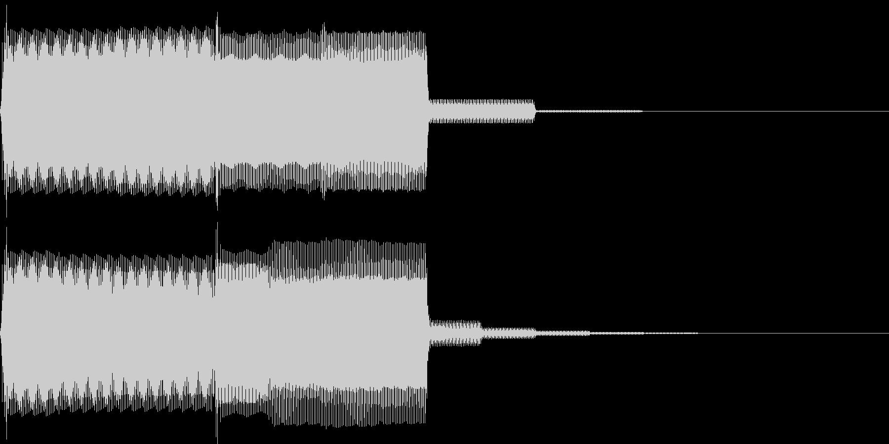 【SE】決定音10(ピポ)の未再生の波形