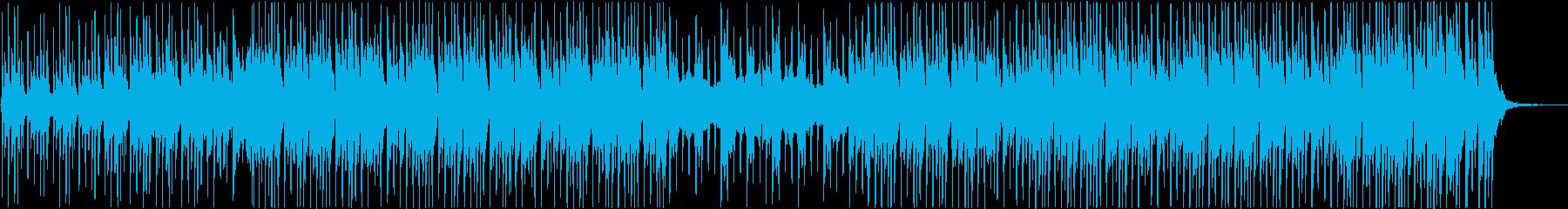 高揚感溢れるリズミカルなメロディの再生済みの波形