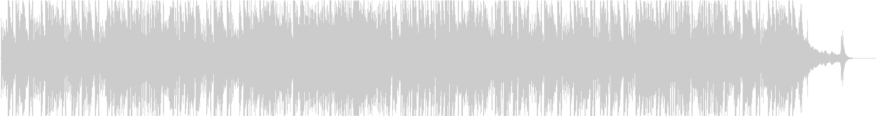 ジャズの名曲 ピアノトリオ アドリブ付きの未再生の波形
