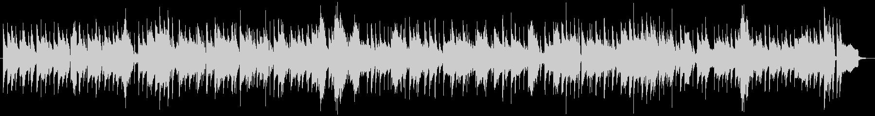 ムーディーなスロージャズバラードの未再生の波形