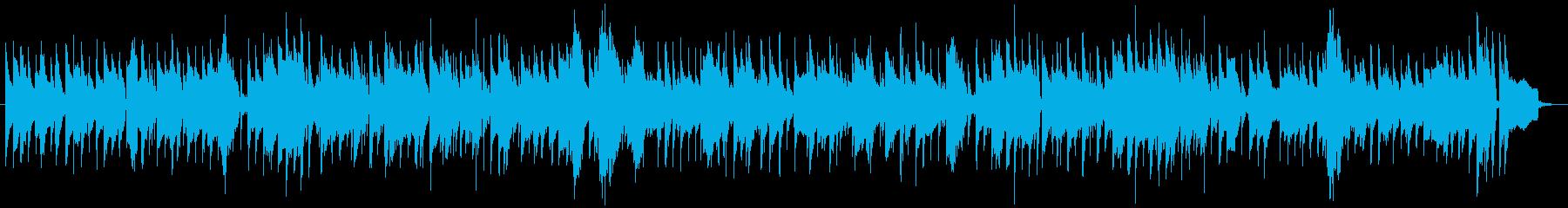 ムーディーなスロージャズバラードの再生済みの波形