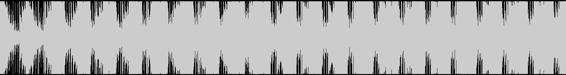 【ループ対応s】アクション映画トレーラーの未再生の波形