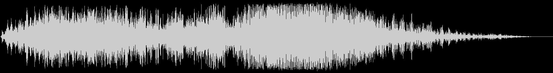 ザップスライド変換の未再生の波形