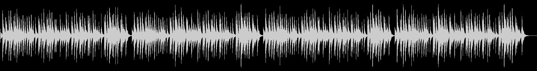 蛍の光 18弁オルゴールの未再生の波形