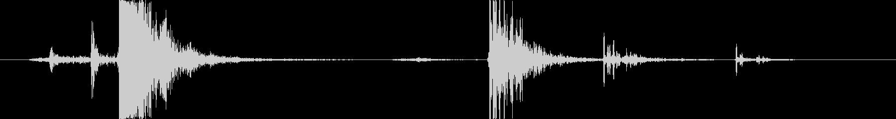 剛毛プッシュほうき:コンクリートに落とすの未再生の波形