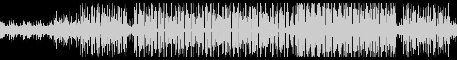 音数少なめのお洒落ディープハウス ループの未再生の波形