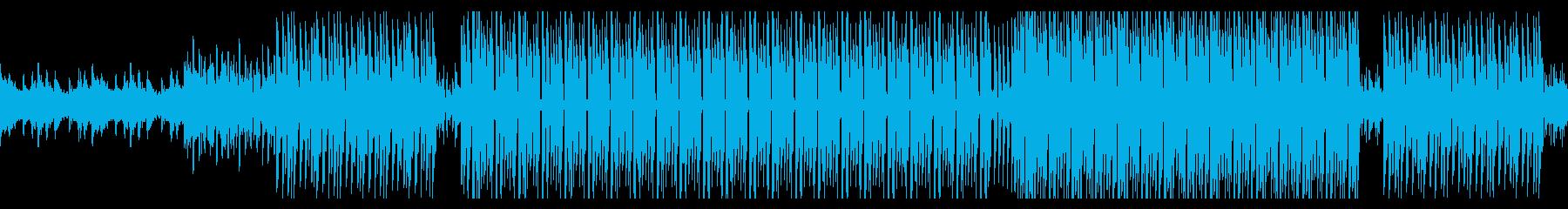 音数少なめのお洒落ディープハウス ループの再生済みの波形