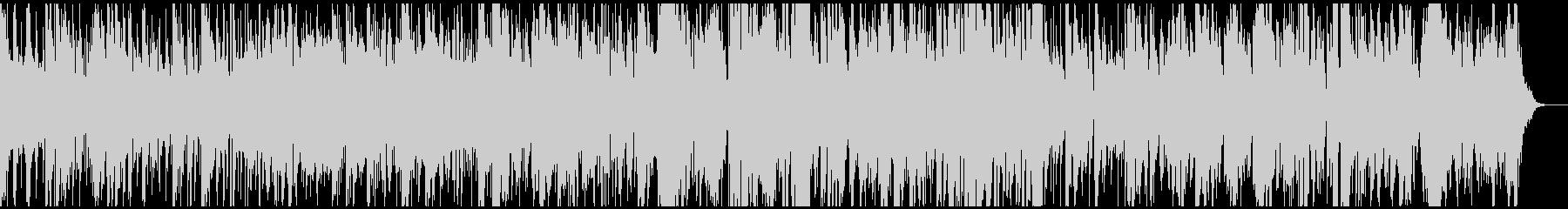 生演奏によるジャズ風サンバボサノバの未再生の波形