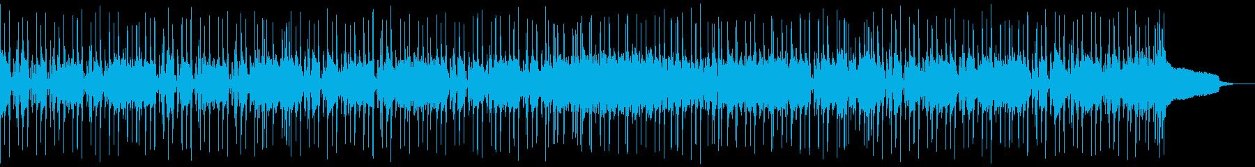 生演奏アコギで可愛いコミカルリコーダーの再生済みの波形