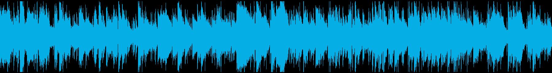 フレッシュなエレピ&サックス ※ループ版の再生済みの波形
